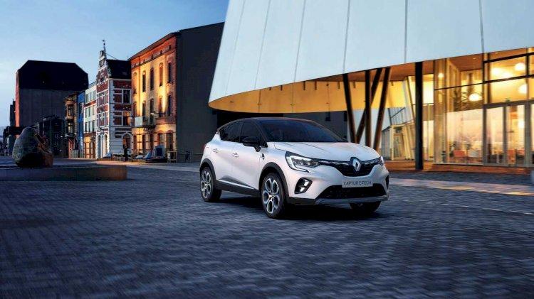 Renault, yeni Captur ve Clio'nun hibrit versiyonlarını tanıttı