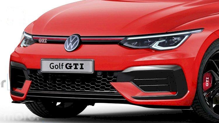 2020 Volkswagen Golf GTI'a gerçekçi tasarım yorumları