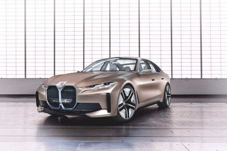 BMW'nin gelecek vizyonu: Concept i4